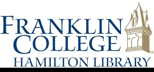 Franklin College Hamilton Library